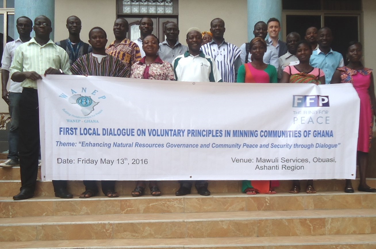 Participants at the Ashanti Regional Dialogue – May 13, 2016, Obuasi